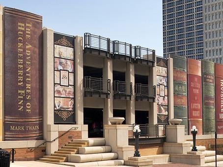 עיטורי אמנות  רחוב , המקרה של הספרייה הציבורית של קנזס