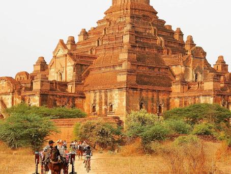 עיר המקדשים בגאן בבורמה במבט אחר וייחודי