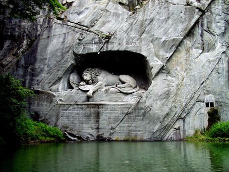 אנדרטת האריה העצוב