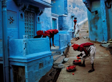 סיור  בוקר : סמטאות בעיירה  פושקאר , הודו