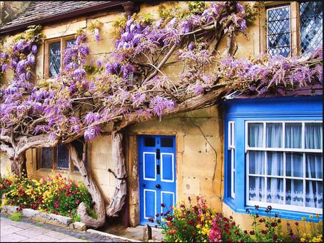 סיור בוקר בכפרים אנגלים שקטים :הכפר ברודווי , אזור הקוטסוולד , אנגליה
