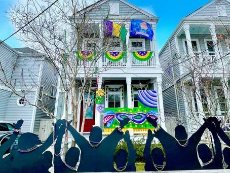 חג ה-Mardi Gras נחגג השנה בבתים ולא כקרנבל צבעוני ברחובות ההומים