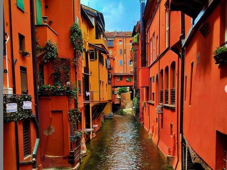 ונציה הקטנה בעיר בולוניה: Bologna, Canale delle Moline