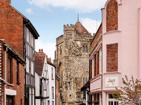 סיור בוקר ברובע העתיק של העיר הייסטינגס (Hastings) באנגליה