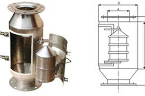Mermi Tipi Manyetik Separatör