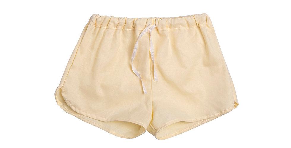 Short pants yellow