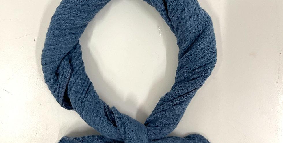 China blue scarf