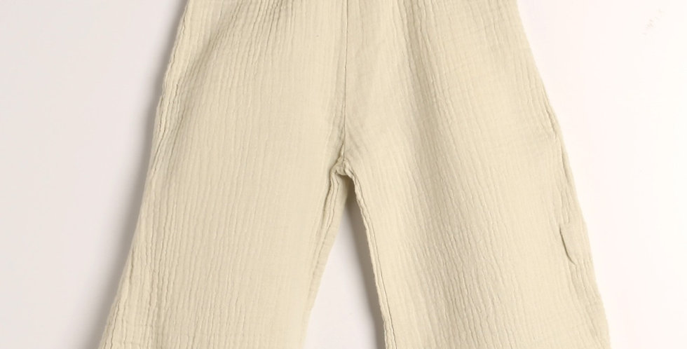 Wide long pants