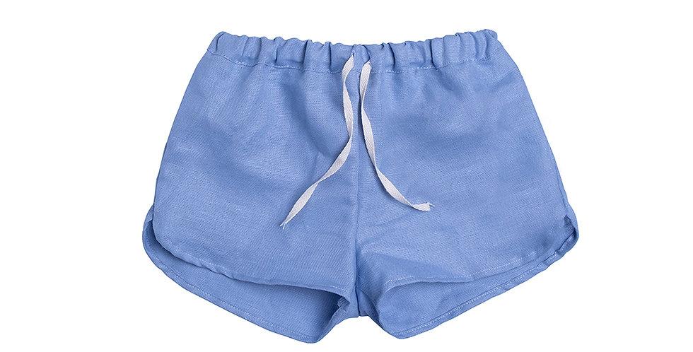 Short pants blue