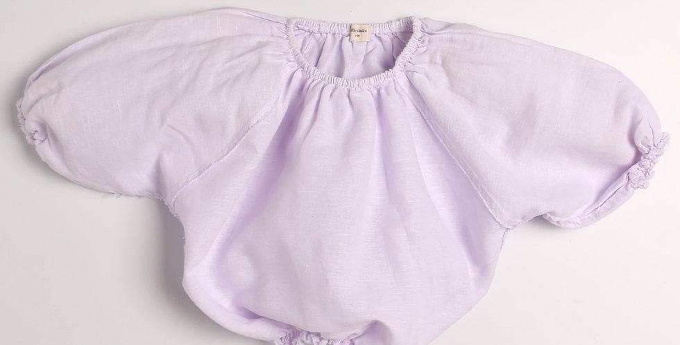 Carmen crop blouse