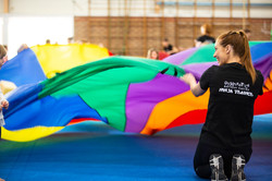 Parachute with Amalie