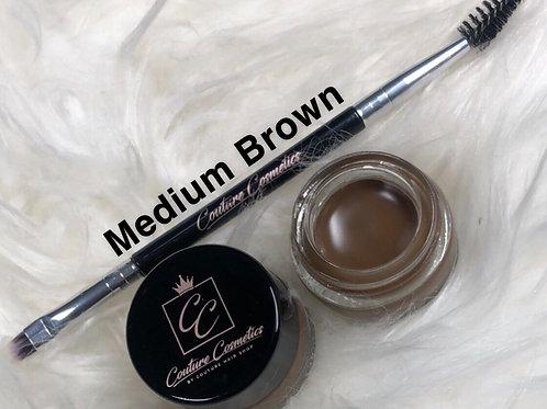 "Couture Cosmetics Brow Pomade- ""Medium Brown"""