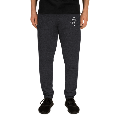 Embroidered Unisex Joggers