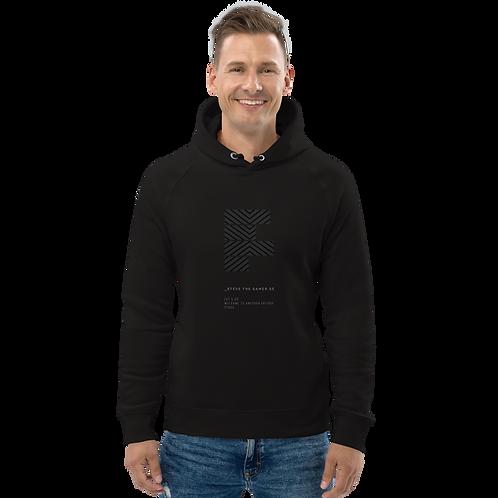 Unisex pullover hoodie – Black on Black