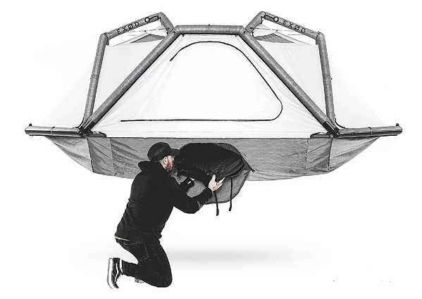 EXOD ARK TENT ELEVATED STORAGE