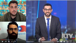 Interview on ILTV: International Criticism over Israeli Military Operation