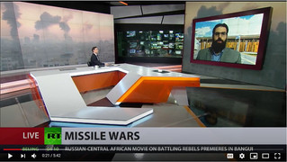 Interview on RT Russian International Television on Israel-Hamas Conflict