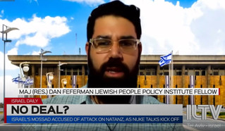 Interview on ILTV: Iran's Nuclear Program - Strike on Natanz Site and Renewed Negotiations