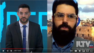 Interview on ILTV Insider: Tensions in Jerusalem and Beginning of Conflict with Hamas