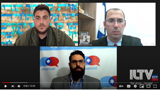 Interview on ILTV: How to Deal with Israeli-Arab Mob Violence