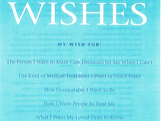 FREE Consultation on Five Wishes