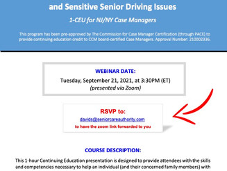Are You Concerned about Diminishing Driving Skills?