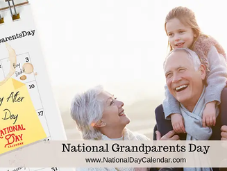National Grandparents Day!