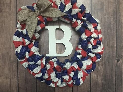 """14"""" Patriotic Wreath"""