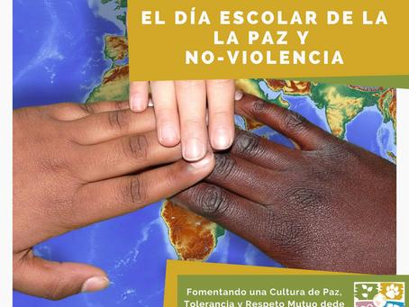 30 de enero, Día Escolar de la Paz y la No-Violencia.