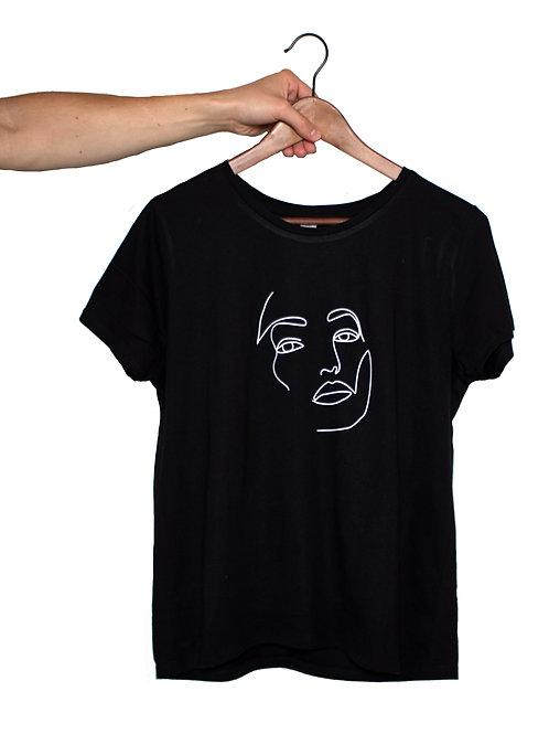 schwarzes Damen Shirt