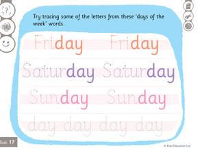 Seekers - Worksheets - Week 19
