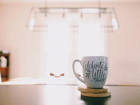 Celebrate the Little Things Mug