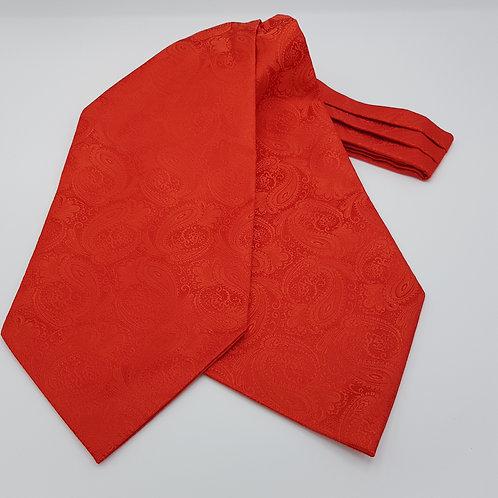Cravat Paisley Red
