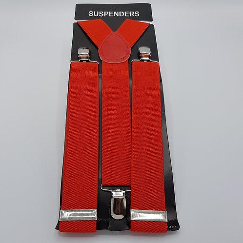 Braces medium red