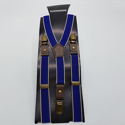 Braces skinny Royal blue