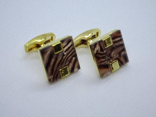 Cufflinks Gold Frame