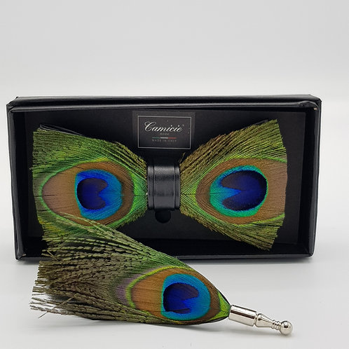 Feathers bowtie