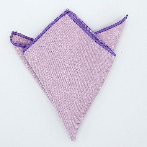 Pocket square plain in Velvet