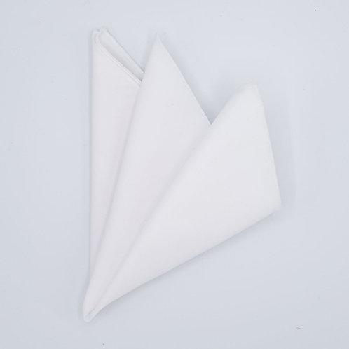 Pocket square plain with edge