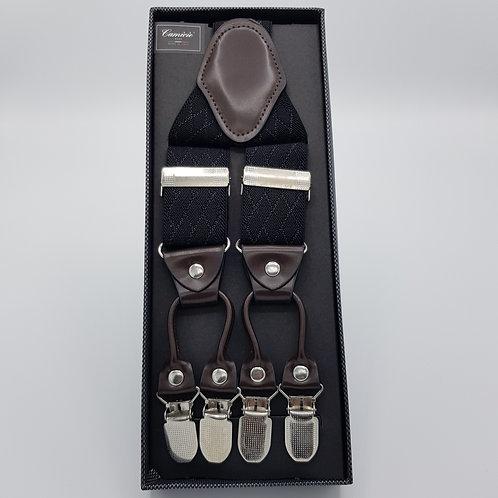 Braces luxory black pattern