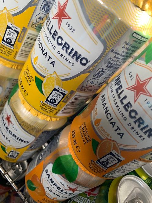 San Pellegrino lemonade