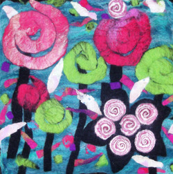 Abstract Flower  Wall Hanging