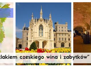 """Morawy """"Szlakiem czeskiego wina i zabytków"""" > 6-7.10.2018 r. > 530 zł/os."""