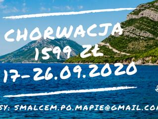 Chorwacja >17-26.09.2020