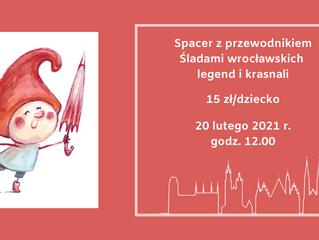 Śladami wrocławskich legend i krasnali - sobota