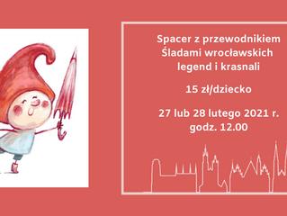 Śladami wrocławskich legend i krasnali - weekend