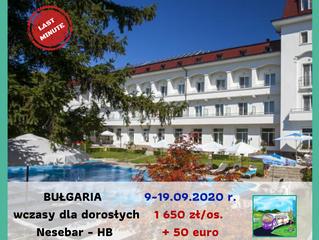 Bułgaria dla dorosłych >9-19.09.2020