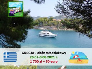 Grecja - obóz młodzieżowy