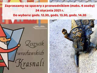 Niedzielne spacery z przewodnikiem - Śladami wrocławskich legend i krasnali