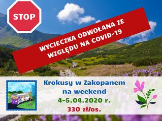 Krokusy w Zakopanem na weekend > 4-5.04.2020